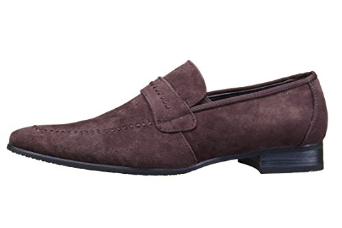 Reservoir Shoes - Chaussure Derbies Anibal Mocassin Choco Marron