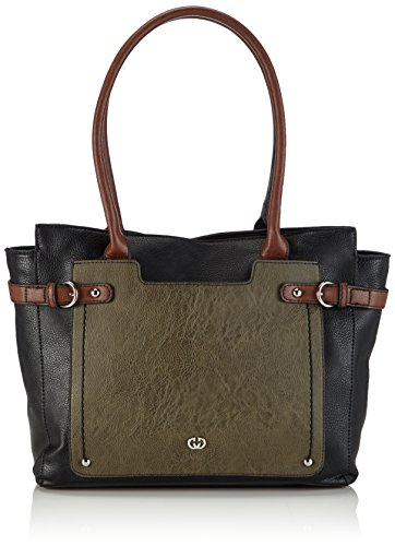 Gerry Weber Catch Shopper, shoppers Multicolore (dark green 602)