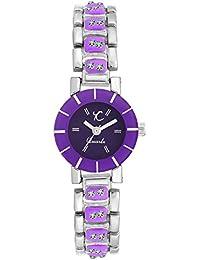 Youth Club Purple Tinny Analog Purple Dial Girl's Watch-LTL-PP