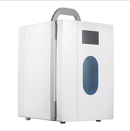 Réfrigérateur À boissons,10l gefrierfach heimat kompakt-kühlschrank gefroren kleiner kühlschrank brust milch lagerung einzeltür kältetechnik kleine gefrierschrank-Weiß - Mit Brust, Kühlschrank Gefrierfach