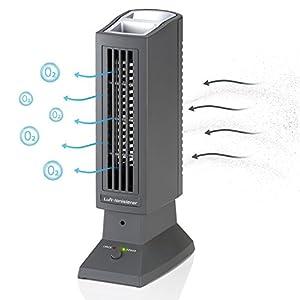 Tevigo Luftreiniger | Luft-Ionisierer | perfekt für Allergiker, Raucher auch bei Hausstaubmilben-Allergie | Deutscher Hersteller