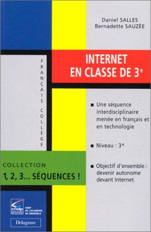 Internet en classe de 3e