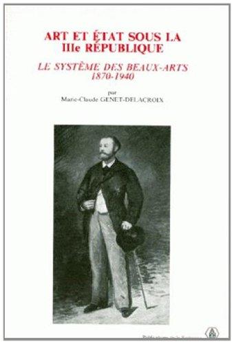 Art et état sous la IIIe République : ...