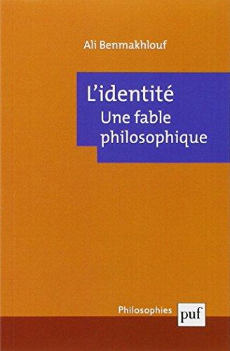 L'identité, une fable philosophique