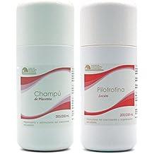 Champú de placenta (Champú de placenta) & pilotrofina (Loción de placenta) Kit