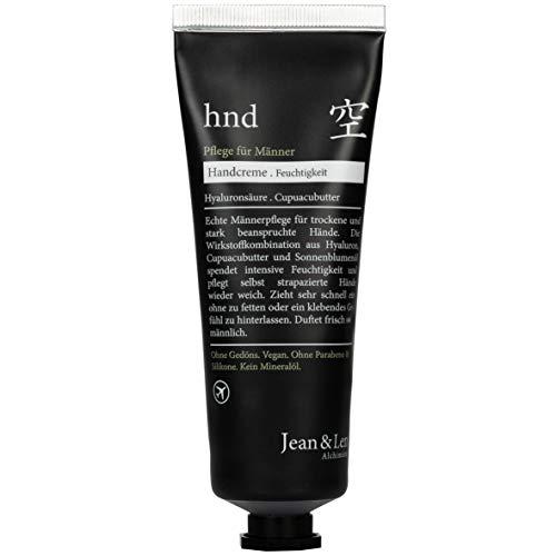 Jean & Len Handcreme für Männer, für trockene und stark beanspruchte Hände, 3er Pack (3 x 75 ml)