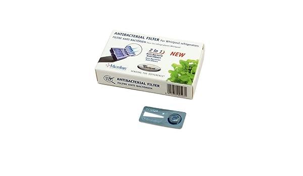 Kühlschrank Hygiene Filter : Original whirlpool kühlschrank gefrierschrank antibakterielle