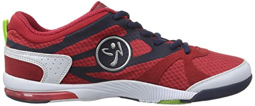 Zumba Footwear Zumbaimpact Max, Chaussures de Fitness Femme Rouge (Red/Navy/White)