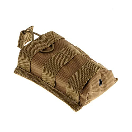HWZ Tactical Molle Rifle Cartridge M4/M16 Open Top Mag Pouch (Sand) -