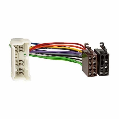 Spectra-adapter (ACV 1143-02 Radioanschlusskabel, ISO Norm mehrfarbig)