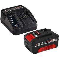 Einhell Power X-Change - Kit cargador con batería (18 V, 3.0 Ah, duración de carga de 60 minutos)