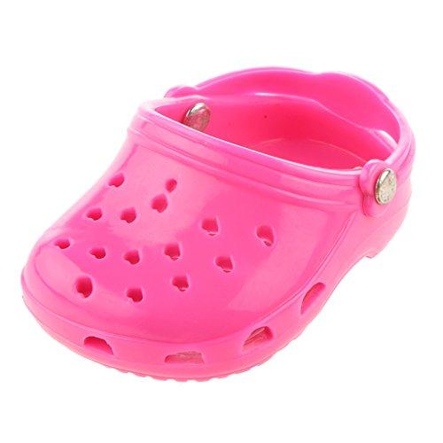 Sandalias Playa Zapatos Rosa Muñecas American Girl