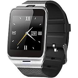 CALISTOUK Bluetooth Smart Wrist Watch Men Sign Cool Long Life And Comfortable Wear
