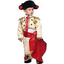 Costume di Carnevale da TORERO MANOLETE Neonato Vestito per Neonato Bambino  0-3 Anni Travestimento 223296e50321
