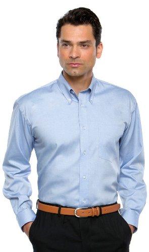 Kustom Kit - Corporate Oxford Hemd LA Silver Grey