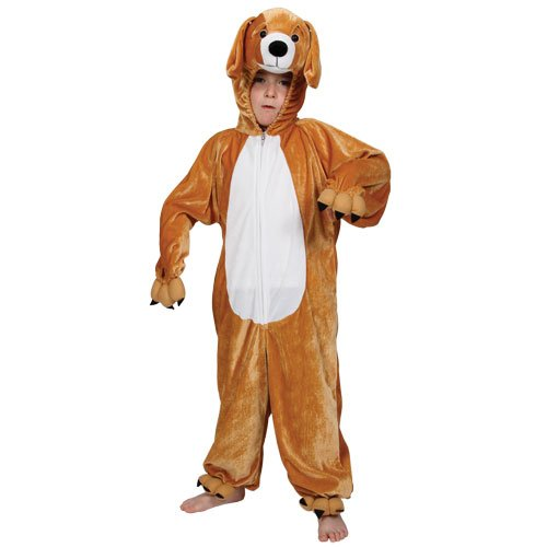 Childrens Animal Boogie Woogie Puppy Dog Halloween Fancy Dress Party Costume (Party Animal Fancy Dress Kostüm)