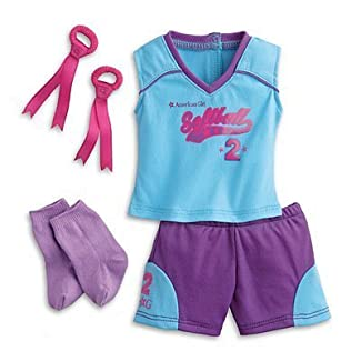 American Girl My AG Softball Set + Charm by American Girl