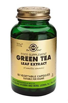 Solgar-SFP Green Tea Leaf Extract Vegetable Capsules 60 by Solgar