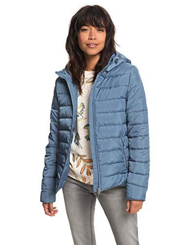 Roxy Blau Rock (Roxy Rock Peak - Water Repellent Padded Jacket - Frauen)