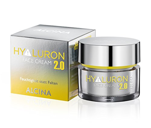 ALCINA Hyaluron 2.0 Face Cream, 1er Pack (1 x 50 ml) - Macadamia Oil Body Butter