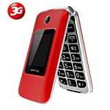 3G Big Button Unlocked Mobile Phones with Extra Loud Speaker,Charging Dock for Elderly,Easy