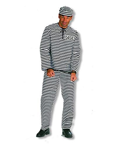 Horror-Shop Sträflings Kostüm Plus Size XL/56