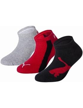 Puma 204202001 - Calcetines cortos para niños, conjunto de 3, color negro, talla 31-34