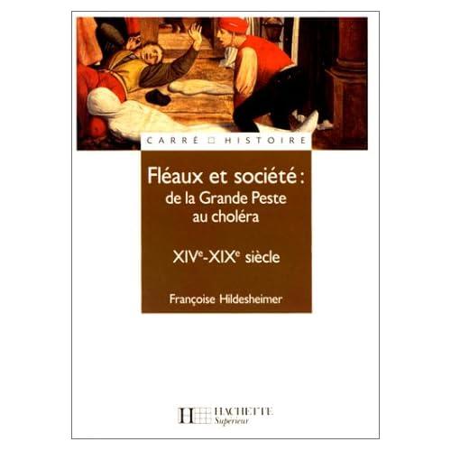 Fléaux et société : de la Grande Peste au choléra, XIVe - XIXe siècle