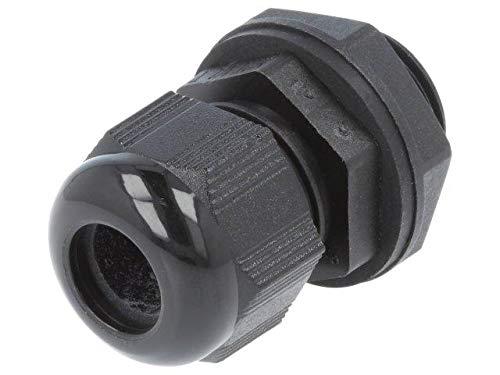 PNC1/2-BK080 Cable Gland NPT1/2 IP66,IP68 Mat Polyamide Black Pcs10 -