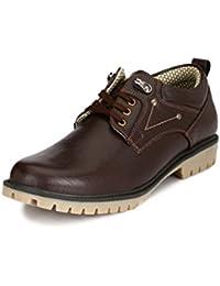 Sir Corbett Men's Synthetic Brown Casual Outdoor Shoes