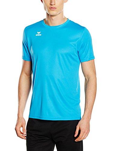 Erima Funktions Teamsport T-Shirt, Herren Funktions Teamsport T-Shirt, Türkis (Curaçao), S