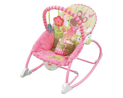 Fisher Price Infant to Toddler Princess Mouse Rocker