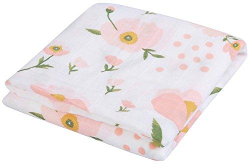 Musselin Swaddle Puckt/ücher aus Puckdecken,Mullwindeln f/ür Junge und M/ädchen,100/% Baumwoll Musselin Decken 2 Pack Gift Set