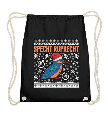 Gymsac - Bolsa de algodón para ornitólogos y fans de los pájaros, color Negro, tamaño 37cm-46cm