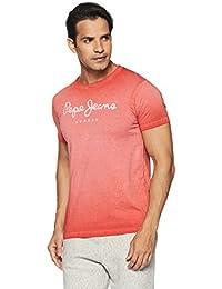 Pepe Jeans Men's Printed Slim Fit T-Shirt
