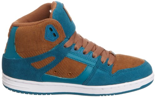 DC Shoes  REBOUND HI LE, Hi-Top Sneakers homme Marron - Braun (BROWNBLUE)