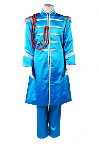 The Beatles Sgt. Pepper's Lonely Hearts Club Band Paul McCartney Cosplay Kostüm Herren XL (Paul Sgt Pepper Kostüm)
