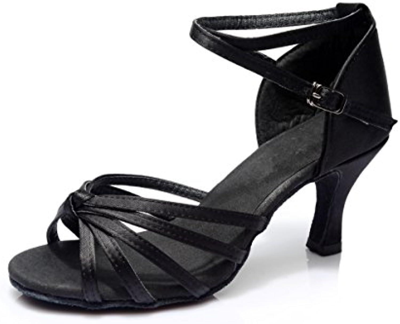 76280ea23acb83 Vesi Vesi Vesi - Women s Ballroom Latin Dance Shoes Sandals Black Knot 3UK  Parent B0713TL5WQ 8541f5