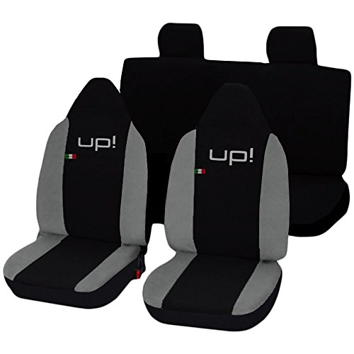 Lupex Shop Up N. Gc Sitzbezüge, Schwarz/Hellgrau