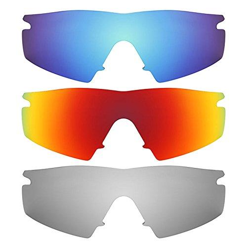 Revant Ersatzlinsen für Oakley M Frame Strike Polarisiert 3 Paar Kombipack K014