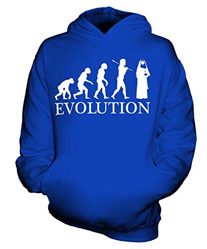 tion Des Menschen Unisex Kinder Jungen/Mädchen Kapuzenpullover, Größe 9-11 Jahre, Farbe Königsblau (Nonne Kostüm Für Mädchen)