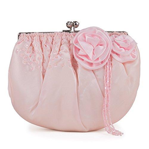 Farfalla 90435, Pochette donna Rosa (rosa)