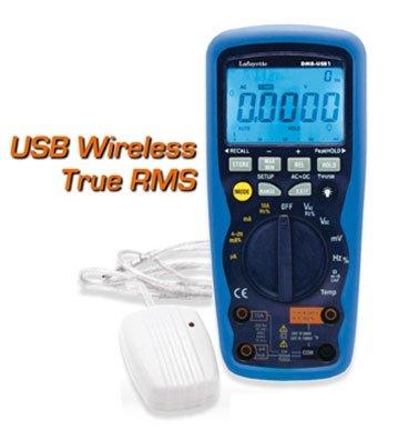 MULTIMETRO DIGITALE DMB-USB1-TRUE RMS INTERFACCIA WIRELESS USB 33102430 La