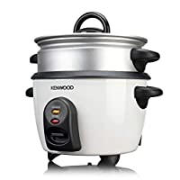 Kenwood 2 in 1 Rice Cooker with Steamer, White, RCM29