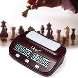 QIKC - Reloj Digital de ajedrez con Temporizador de Cuenta atrás para competición de Juegos