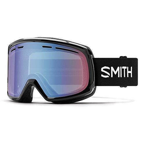 Smith Herren Range Goggles, Black/Blue Sensor Mirror, One Size