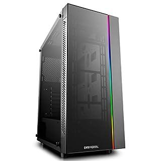 Deepcool Matrexx 55 ADD-RGB Tower-Gehäuse, schwarz, Tempered Glass