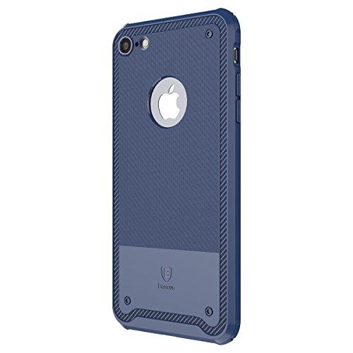 iPhone 7 Plus Hülle, IVSO Ultra Slim Silikon Rückseite Schutzhülle für Apple iPhone 7 Plus 5.5 Zoll Smartphone (Für iPhone 7 Plus, Grün) Blau