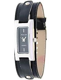 Reloj analógico de señora Christian Gar Mod.Cullera 7237- Color Negro