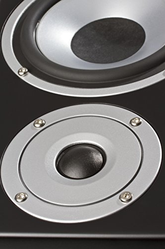 ELAC Debut B5 Regallautsprecher (Paar) 50/70W schwarz dekor
